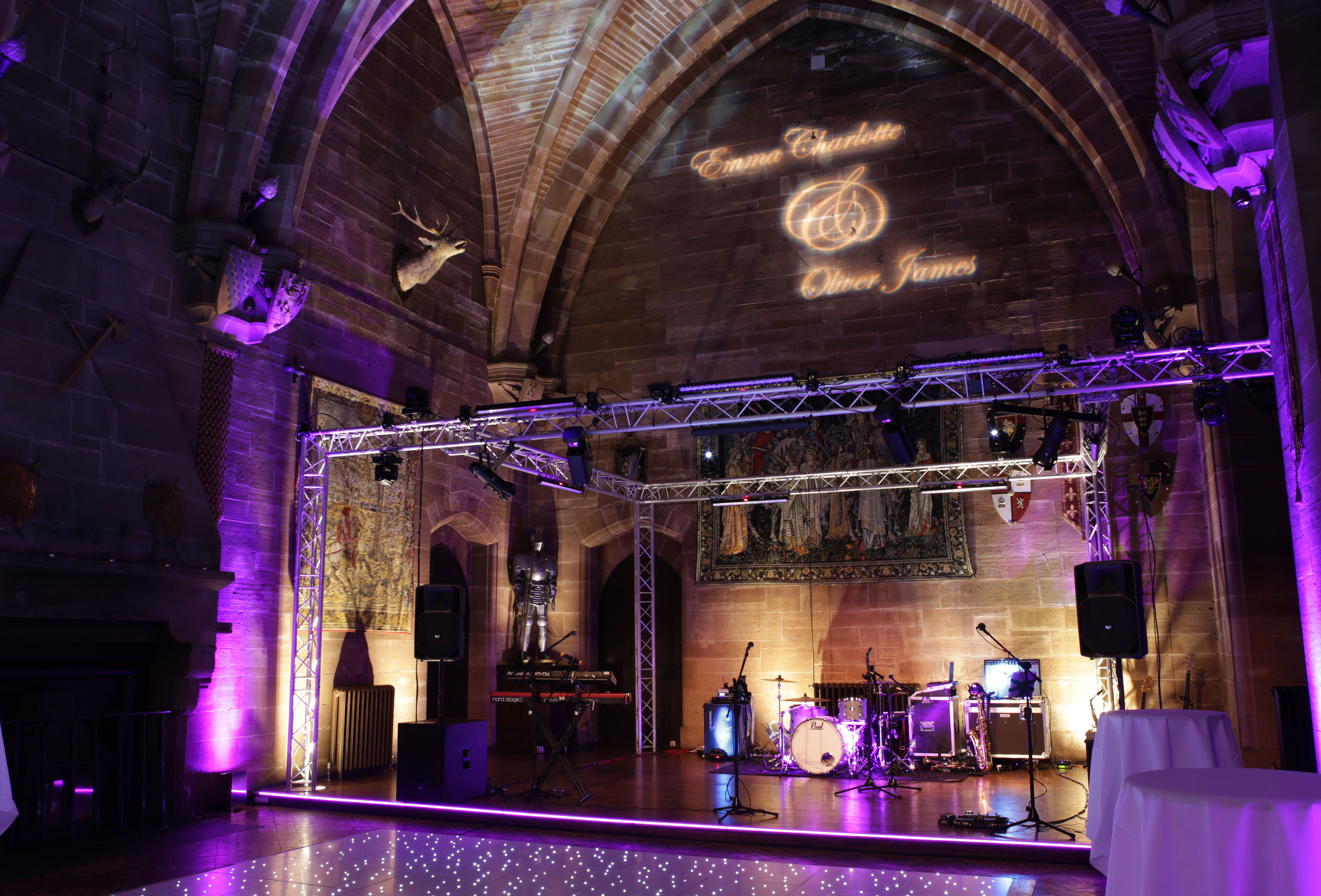Wedding Lighting - OCM Events